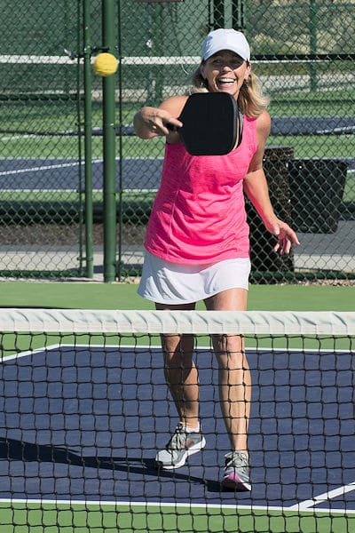 paddle for spinning in pickleball