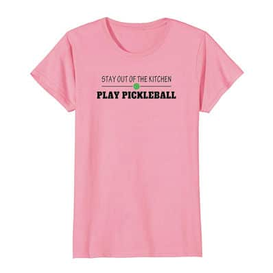 pickleball kitchen shirt for women
