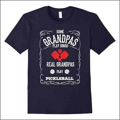 Real Grandpas Play Pickleball T-Shirt review