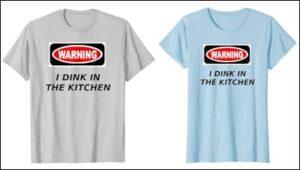 pickleball warning t-shirt review