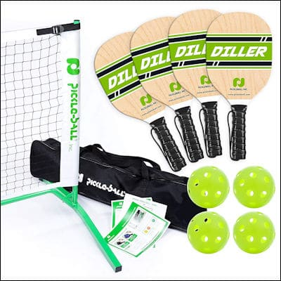 Pickleball Diller Tournament set review