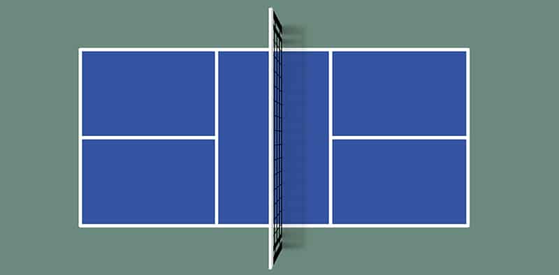 what is the Size of a Pickleball Court