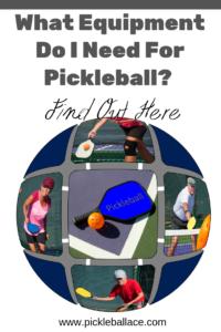 pickleball equipment