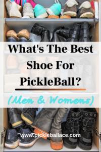 best shoe for pickleball