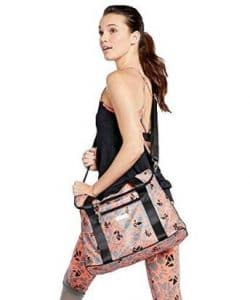 Pickleball Marketplace Ladies Printed Pickleball Slouch Bag
