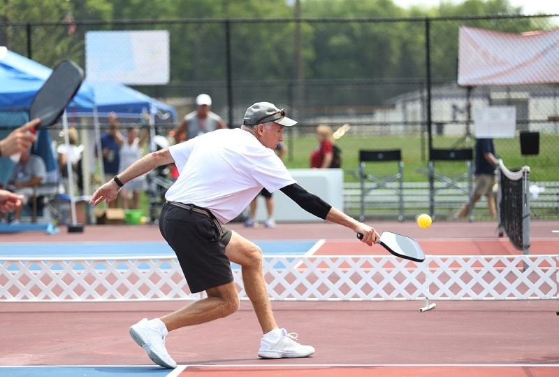 What is the Non-Volley Zone in Pickleball?