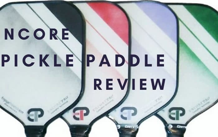 encore pickleball paddle review